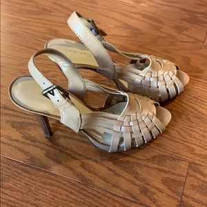 Nine West Peep Toe Heels Size 6